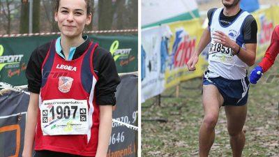 I campioni 2018: Federico Castrovinci e Federica Maggio, gli junior imbattibili